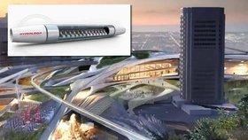 Nevadu čeká test dopravy budoucnosti. Hyperloop chtějí už teď i v Brně