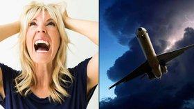 Bojíte se létání? Máme pro vás 10 tipů, jak se svého strachu zbavíte!