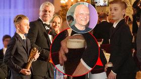Pyšný Artur Šípek: Převzal cenu za zesnulého tátu Bořka, pak šel tajně pro pivo!