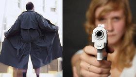 On vytáhl penis, ona pistoli: Masturbující úchyl v Plzni vzal do zaječích