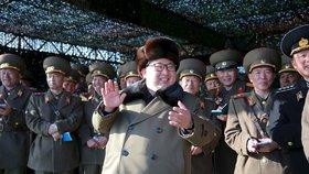 Hrozící Kim Čong-un: Vůdce KLDR nařídil další jaderné testy