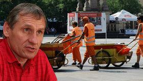 """Vsetín """"rozzáří"""" vesty, slibuje Čunek. Uklízet ulice pošle stovku nezaměstnaných"""