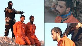 ISIS brutálně popravil špiony: Jednomu omotali výbušninu kolem krku