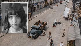 """Ze zákulisí natáčení filmu Já, Olga Hepnarová: 8 lidí museli """"přejet"""" v Polsku"""