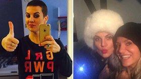 Šťastná zpěvačka Dara Rolins: Rakovina je na ústupu! Její manažerce opět rostou vlasy!