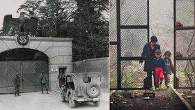 """Uprchlický tábor Idomeni je novodobé Dachau."" Řecký ministr vzpomenul nacisty"