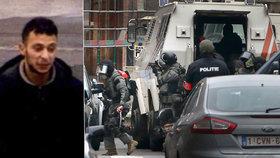 Policie zadržela pařížského atentátníka Abdeslama. Je zraněný, ale žije
