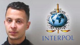 Interpol: Zatčení Abdeslama děsí teroristy, hrozí násilí při útěku z Evropy