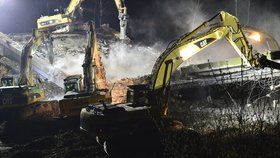 Dálnici D1 na Brněnsku v noci na neděli zavřou: Silničáři tu zbourají tři nadjezdy