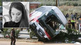 Studentka na Erasmu Kristína: Svědectví z autobusu smrti. Vyvázla jen se zlomenou rukou…