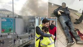 Arabské výkřiky před explozí, výbuch trhal končetiny... Drsná svědectví z Bruselu