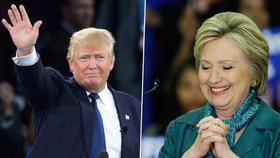 Trump a Clintonová opět slavili úspěch. Soupeře o Bílý dům pokořili i v Arizoně