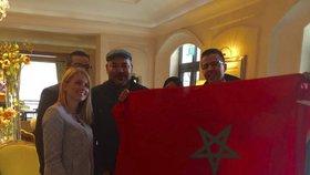 """Češka obsluhovala marockého krále: """"Bylo to příjemné,"""" svěřila se"""