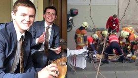 Americký student přežil už třetí teroristický útok: Z bruselského letiště odešel s popáleninami