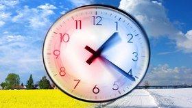 O víkendu se změní čas, na neděli si o hodinu přispíme