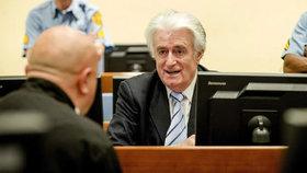 Karadžič si má za genocidu a zločiny proti lidskosti odsedět 40 let, řekl soud