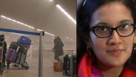 Těhotná žena přežila teror v Bruselu. Nenarozenému dítěti napsala dojemný vzkaz