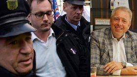 Extremista Bartoš po propuštění: Chci hlavu Chovance. Ministr: Ještě že ne ruku