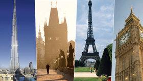 Nejkrásnější místa na zemi: Praha zabodovala! První skončil Londýn