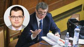 """""""Lex Babiš"""" našel zastání ve sněmovně. ANO viní Sobotkova muže z útoku na šéfa"""