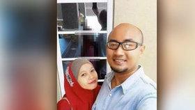 Hororová selfie s muslimkou: Podívejte se na odraz v okně