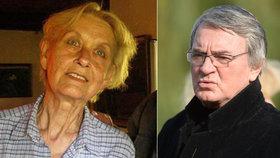 Harapes v šoku: S jejím manželem, básníkem Topolem, žil pod jednou střechou, smrt Topolové mu rodina zatajila