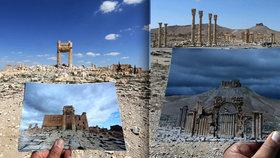 Syrská Palmýra vstává z popela: Co zbylo po desetiměsíčním běsnění ISIS?