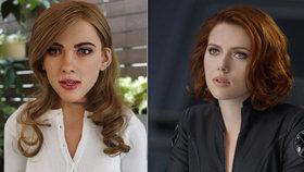 Scarlett Johansson jako robot: Postavil ho fanoušek