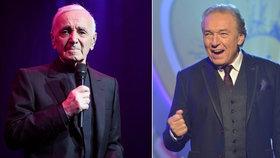 Charles Aznavour vystoupí v Praze! Gott mu dal košem... on mu přesto poslal super hit