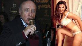 Slováček trávil večer se starou známou: Společnost mu dělala pornohvězda Ládová!