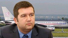 """Vládní letka v potížích: """"Hamáčkův"""" airbus měl problém při přistání"""