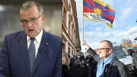 Kalousek: K tibetské vlajce jsem se připletl. A na fotce s Putinem se usmívám