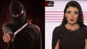 Arabská moderátorka spustila ve vysílání: Přiznejme si to, jsme teroristé