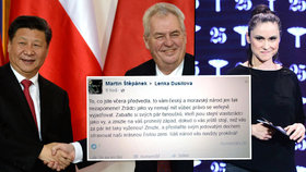 Dusilová to po proslovu proti Zemanovi krutě schytala: Feťačko, ku**o, táhni za hranice!