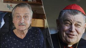 Herce Pavla Soukupa rozčílil Dominik Duka: Opravdu jste hodnostář katolické církve?