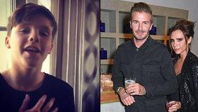 Z Beckhama bude další Justin Bieber! Cruz zazpíval mamince