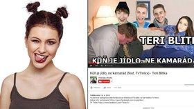 Nechutný útok na youtuberku Teri Blitzen: K**vo za**aná, natrhnu ti a**l!