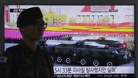 OSN odsoudila severokorejský raketový test. Slíbila odvetné kroky
