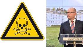 České vládě vyhrožoval jedem: Ve Švédsku zatkli mladého vyděrače