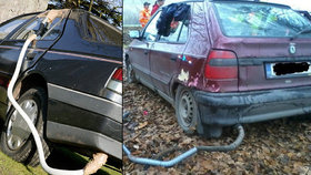 Sebevraždy výfukovými plyny: Tři lidé se pokusili skoncovat se životem uvnitř svého auta