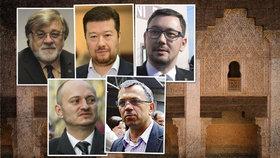 Konvička, Okamura, Ovčáček a další v kvízu o islámu. Kdo pohořel a kdo vyhrál?
