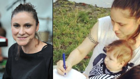 Lenka Dusilová nečekaně o soukromí: O tajemném otci svého syna a domácím porodu!