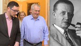 Teče Zemanovi s Hitlerem gentlemanem do bot? Peroutka ho prý neoceňoval