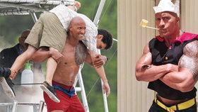 Svalovec The Rock si uřízl pořádnou ostudu: Fotky, kterého jeho fanoušky rozesmutní!