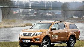 Vstříc pohodlí: Nissan Navara 2.3 dCi 190 Double Cab