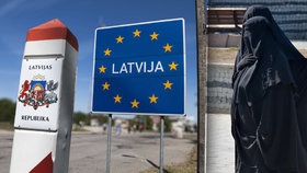 Lotyšsko chce zakázat burku: Schováte tam granátomet, tvrdí exprezidentka