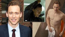 Idol žen Tom Hiddleston: Představitel bájného Lokiho předvede v novém filmu božské tělo