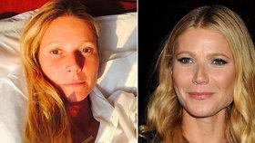 Gwyneth Paltrow (43) se pochlubila fotkou z postele: Jak po ránu vypadá?
