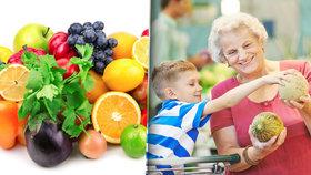 Zdravé stravování pro seniory