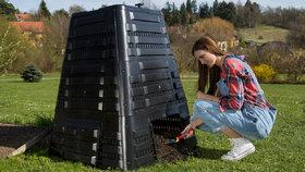 Praha nabízí lidem kompostéry. V případě zájmu si pospěšte, jsou jich jen desítky